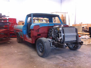 Great base for project truck; 1969 F100 Ranger SWB