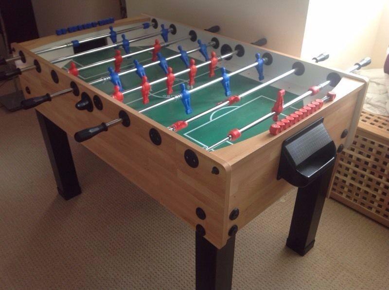 John Lewis Full Size Table Football Table Foosball Table Used - Foosball table price