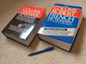 Collins French and German Large Dictionaries