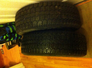 Two 205/75/14 winter tires