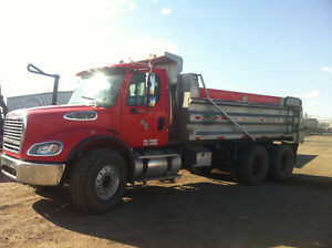 Looking for a job for my gravel truck