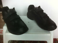 Brand New Black Athletic Works Sneakers, size 10.