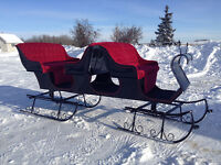 Christmas Riding Camp with sleigh rides and jingle bells!