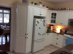 Kitchen cabinets, Countertops, Sink & Taps