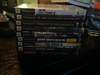 Several PS2 Games