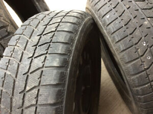 4 snow tires on GM rims $340.00