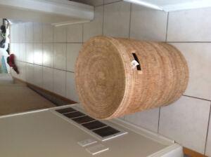 Bali/Lombok rattan art basket