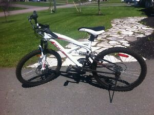 "CCM Alpine 24"" Full Suspension Mountain Bike - new condition"