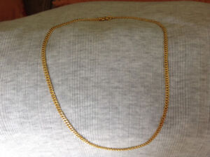 Solid Gold Chain 24K (999.9 Pure)