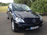 Mercedes-Benz ML280 3.0TD CDI AUTO 2006, 115K 1 OWNER FULL MERCEDES S/H