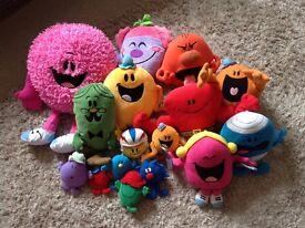 Massive bundle of Mr Men and Little Miss toys