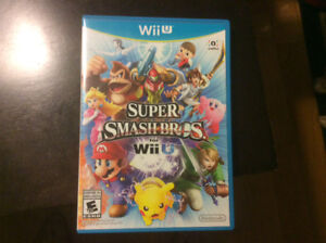 Wii U Super Smash Brothers