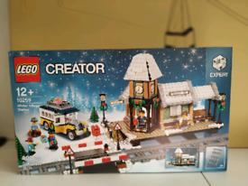 Lego Creator 10259 Winter Village Station - Brand New