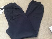Boys M&S School Tracksuit Joggers age 13 - new