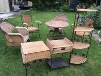 Rattan Conservatory garden furniture