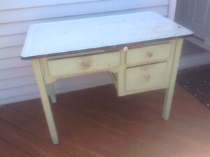 Old Kitchen table unit