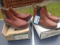 Two Chelsea work boots size 7 and 11 £15 each