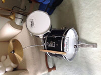Drums plus Footpedal... Great starter set...4pcs