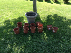 Do you need some flower pots?