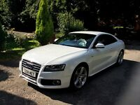 2010 AUDI A5 S-LINE 2.7 TDI AUTO MULTI TRONIC,SPECIAL EDITION, PRIVATE PLATE !STUNNING CAR