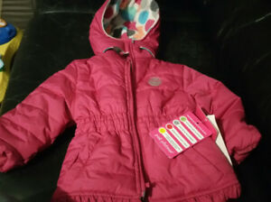 12 month girls winter jacket