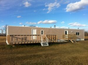 MOBILE HOME ON 20 ACRES NORTH OF DIXONVILLE PEACE RIVER