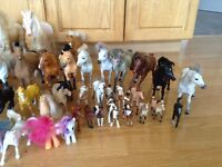 Trade for tack? 250$ value; lot of model horses