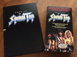 This is Spinal Tap - VHS & CD-ROM versions of Classic Movie