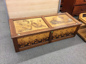 Handcrafted Vintage Hope Chest