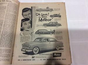 1950 Meteor Advertisement