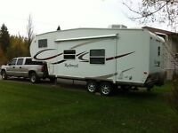 2006 rockwood fifth wheel 8240ss with bunks