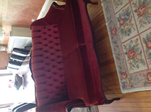 French Provincial style Loveseat and Chair