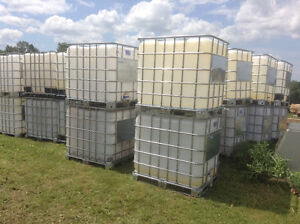 TOTES, WATER TANKS FOR SALE