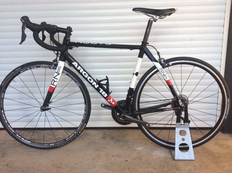 Argon 18 road bike, Radon with shimano tiagra