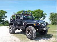 2001 Jeep Wrangler 4.0 Sahara Hard Top 4x4 3dr