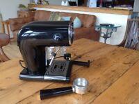 Coffee machine retro style