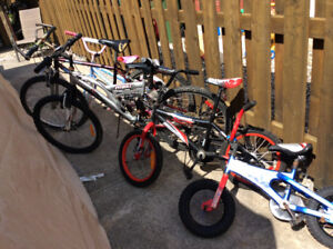 AMAZING SELECTION OF USED KIDS BIKES FOR SALE