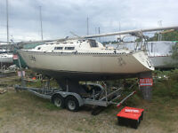 CnC 29 Mark 1 4'draft => Deliver + Low price + TLC = Spring Sail
