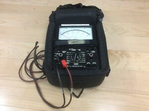 Simpson 260 Series 8P Overload Protection Multimeter, Volt-Ohm
