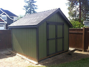 Top quality shops, garden sheds and playhouses.
