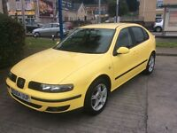 2004 Seat Leon 1.9 SE TDI-55,000 miles-2 owners-12 months mot-service history-great economy