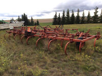 25' CCIL cultivator & other equip