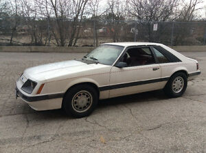 1985 Ford Mustang LX Hatchback