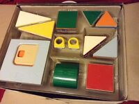 Magnetic tiles 66 pieces - Imported from Japan