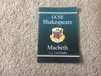 GCSE Macbeth text guide