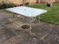 Garden table 6 seater
