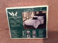 3 pièces couvre-duvet queen  / 3 piece luxury duvet cover set