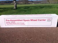 Caravan Spare Wheel Carrier ( BRAND NEW )