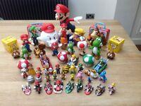 Super Mario figures collection