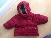 Burberry winter coat
